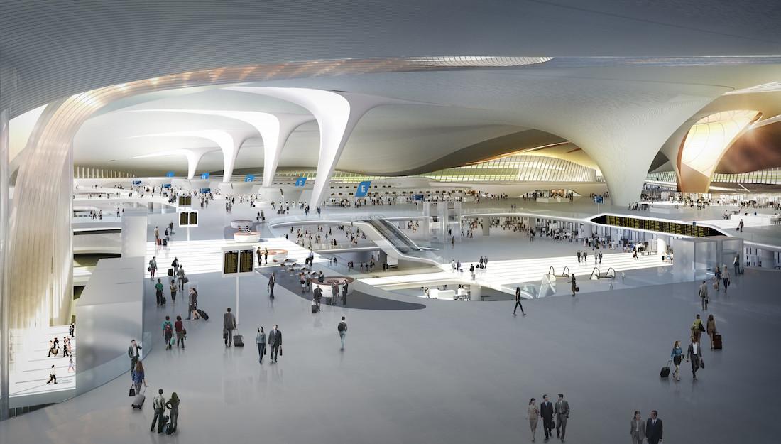 самая большая аэропорт в мире необузданный